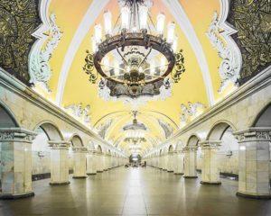 Estación del metro de Moscú Komsomólskaya
