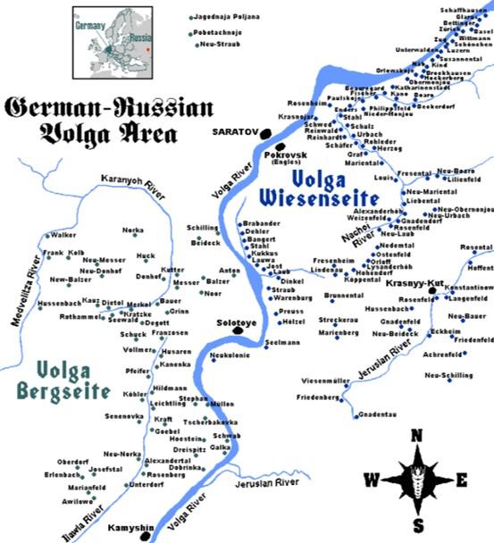 Alemanes del Volga