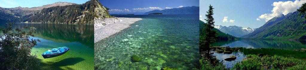 El lago Baikal. Imagen