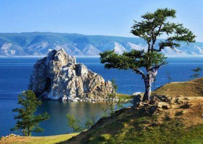 Lago Baikal en verano