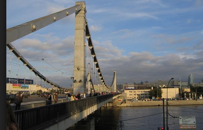 Puente de Crimea en Moscú