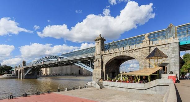 Puente peatonal Pushkinsky