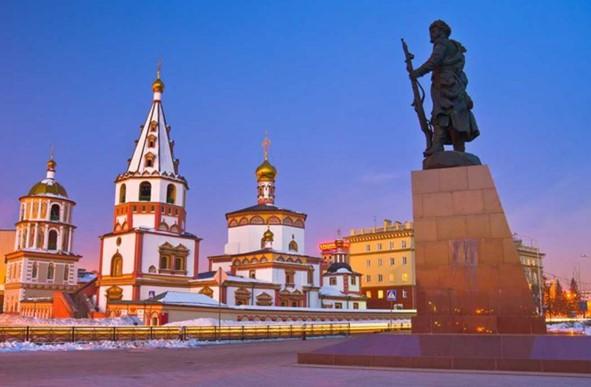 Irkutsk es la ciudad mas importante del lago baikal