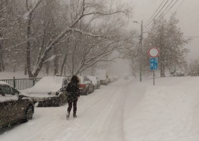 Calle Snayperskaya, de Moscú